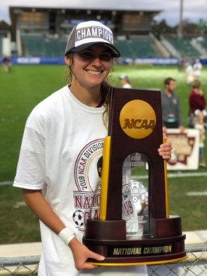 Congratulations to Malia Berkely '16 and the Florida State Seminoles!