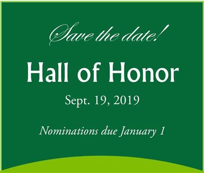 2019 Hall of Honor