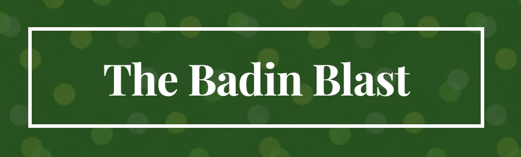 The Badin Blast newsletter