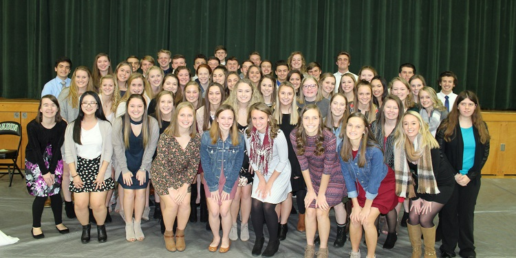 2018 NHS Inductees