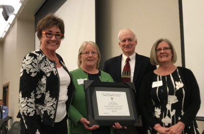 Teresa Heinrich honored by the American Chemical Society