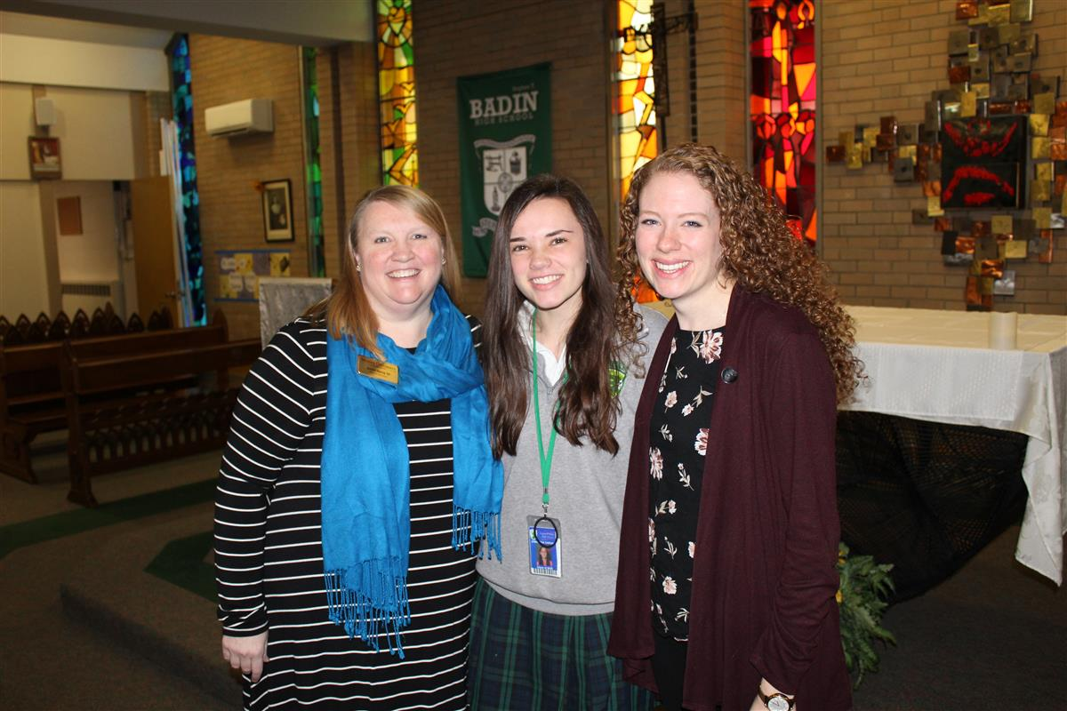 Badin High's Sarvak offered prestigious Marian scholarship