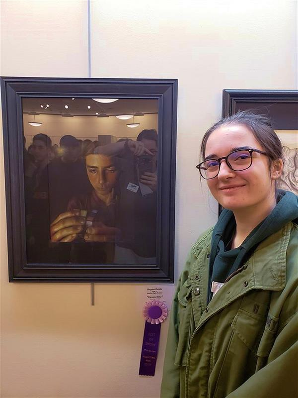 Badin's Runtz earns 'Best of Show' award at 'Tomorrow's Artists' show in Middletown