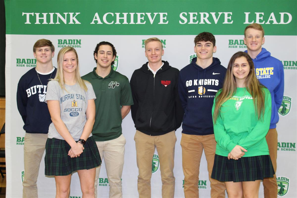 Seven more Badin student-athletes headed for the college sports ranks